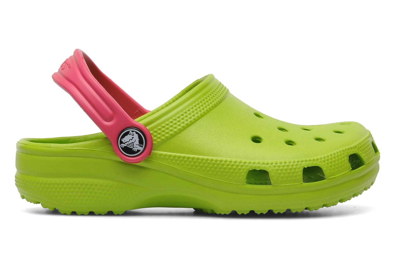 Sandalen Crocs Classic Kids Power Pack Groen achterkant