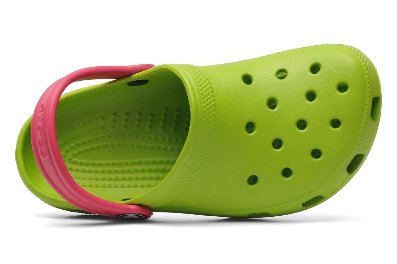 Sandales et nu-pieds Crocs Classic Kids Power Pack Vert vue gauche