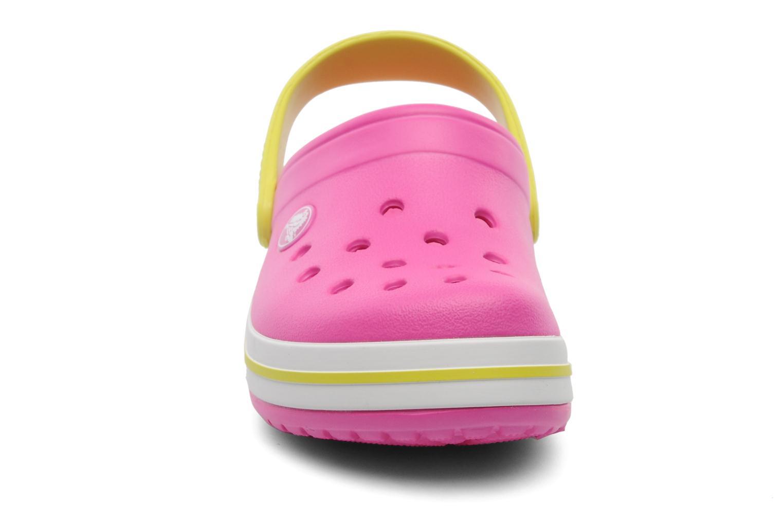 Sandales et nu-pieds Crocs Crocband Kids Power Pack Rose vue portées chaussures
