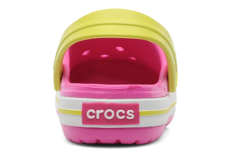 Sandales et nu-pieds Crocs Crocband Kids Power Pack Rose vue droite