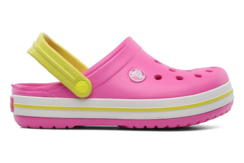 Sandales et nu-pieds Crocs Crocband Kids Power Pack Rose vue derrière