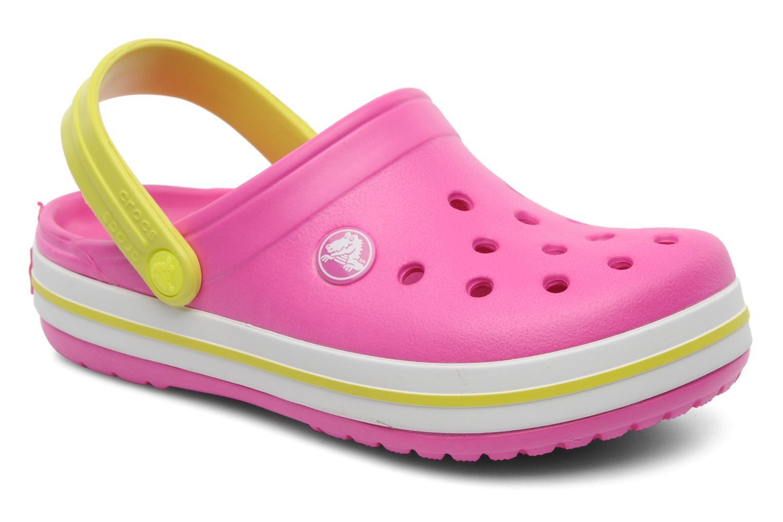 Sandales et nu-pieds Crocs Crocband Kids Power Pack Rose vue détail/paire
