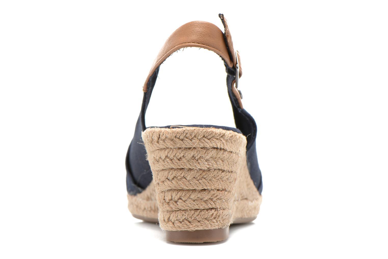 Sandales et nu-pieds Tom Tailor Tany Bleu vue droite