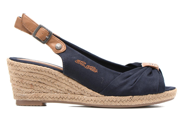 Sandales et nu-pieds Tom Tailor Tany Bleu vue derrière