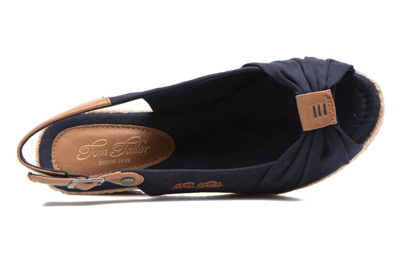 Sandales et nu-pieds Tom Tailor Tany Bleu vue gauche