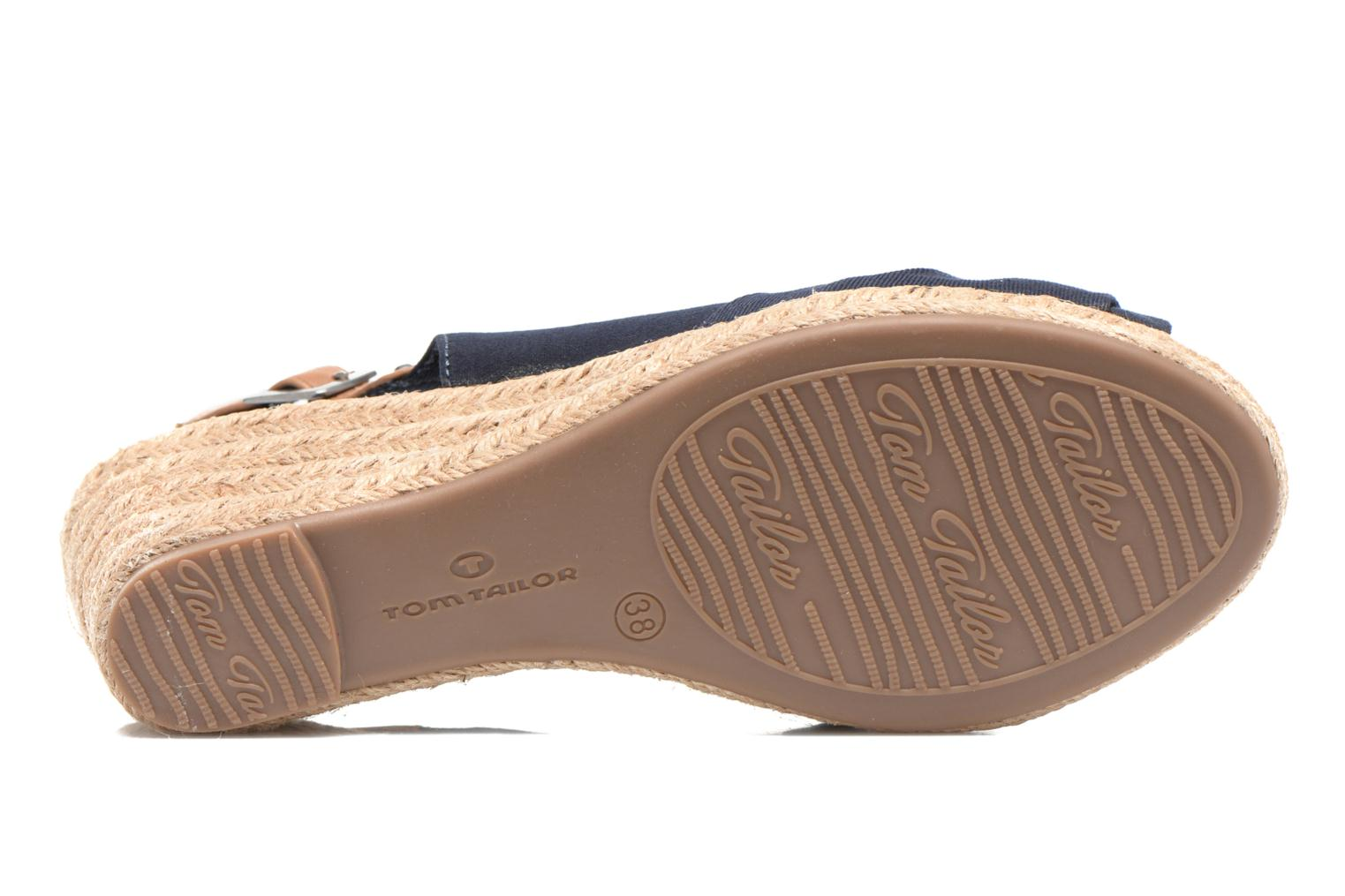 Sandals Tom Tailor Tany Blue view from above