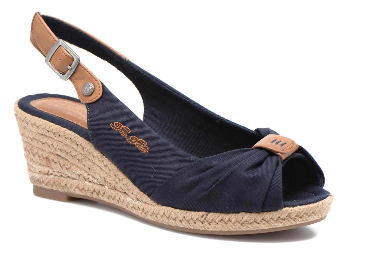 Sandales et nu-pieds Tom Tailor Tany Bleu vue détail/paire