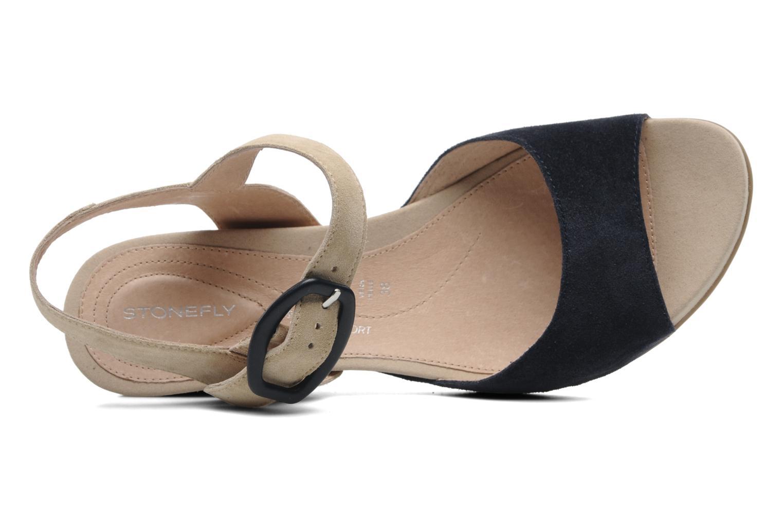 Sandales et nu-pieds Stonefly Athena 29 Bleu vue gauche