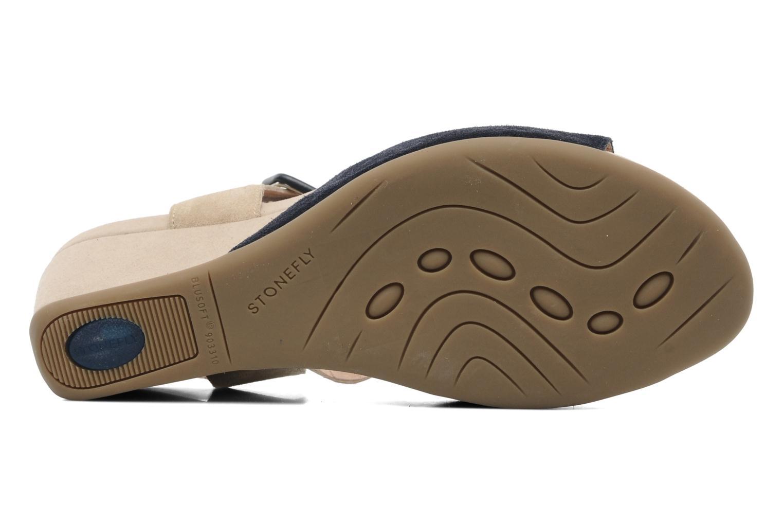 Sandales et nu-pieds Stonefly Athena 29 Bleu vue haut