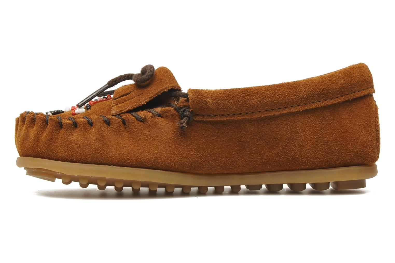 Loafers Minnetonka Thunderbird II Moc G Brown front view