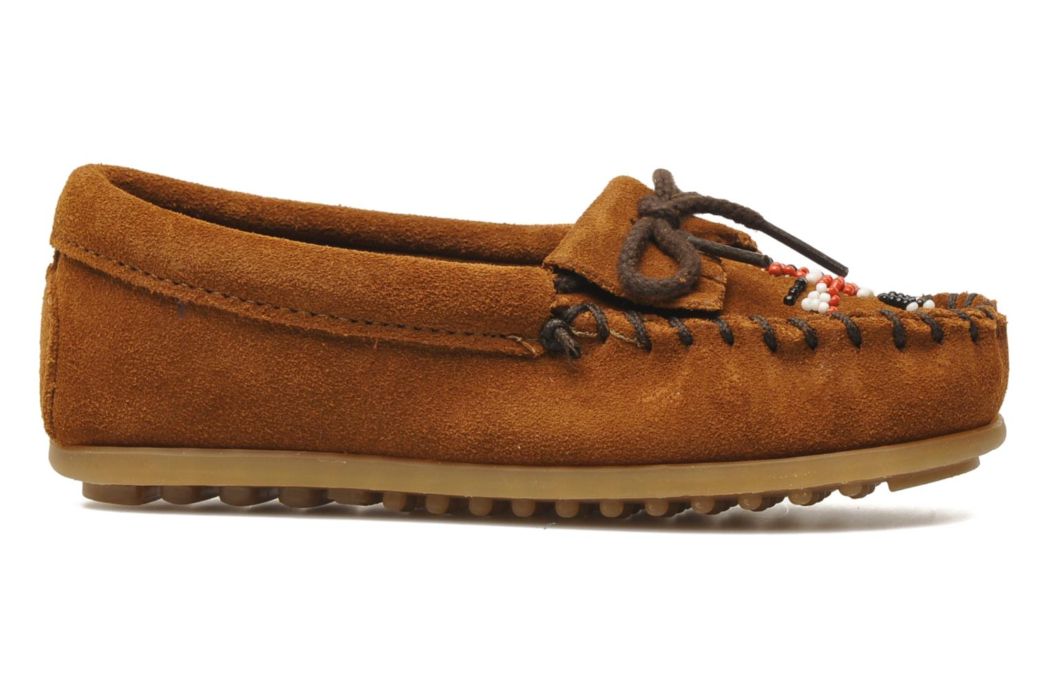 Loafers Minnetonka Thunderbird II Moc G Brown back view