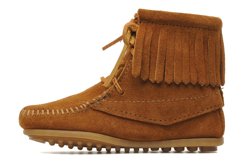 Boots en enkellaarsjes Minnetonka Tramper Bootie G Bruin voorkant