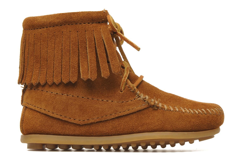 Boots en enkellaarsjes Minnetonka Tramper Bootie G Bruin achterkant