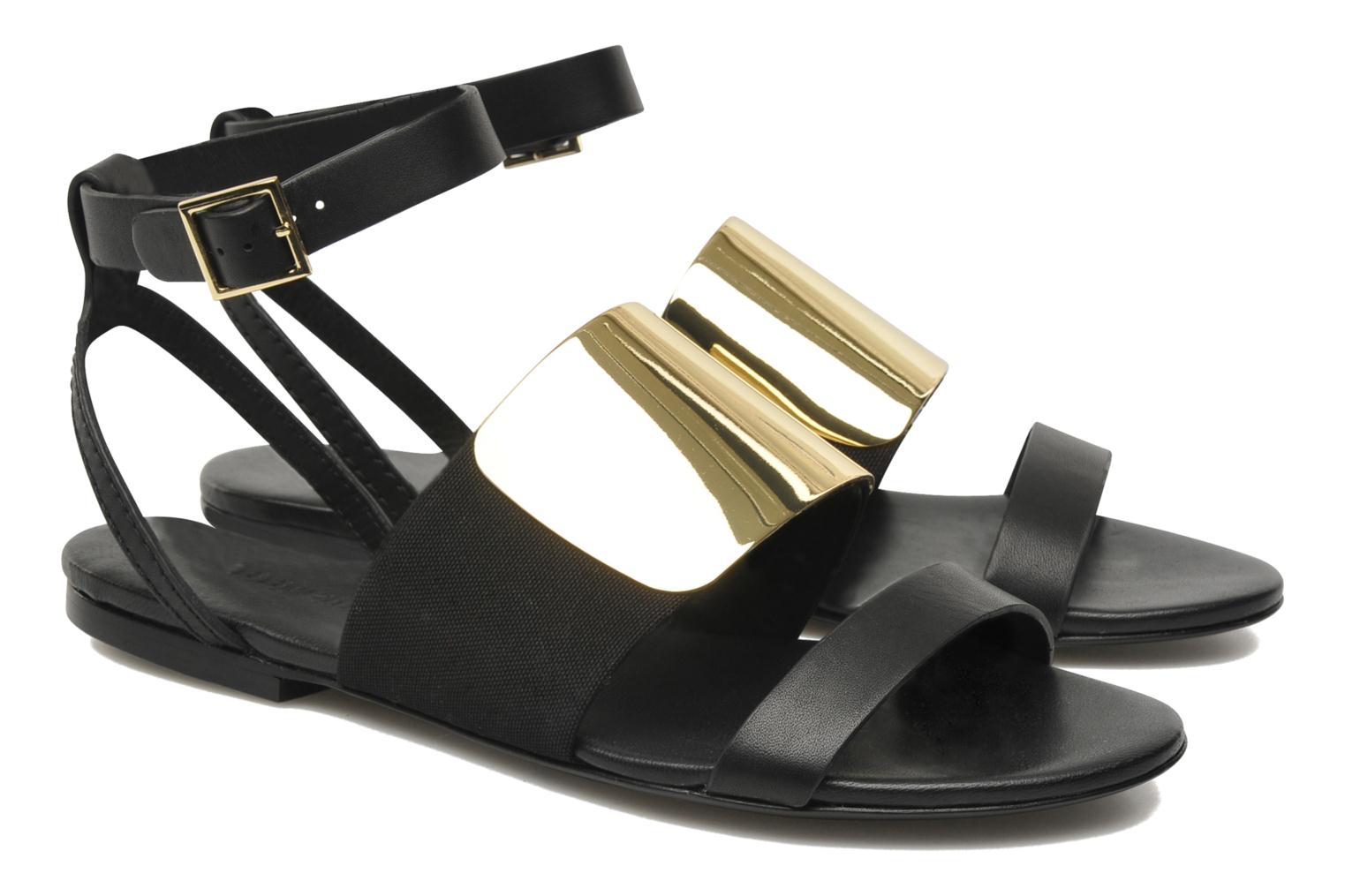 Sandals See by Chloé June Black 3/4 view