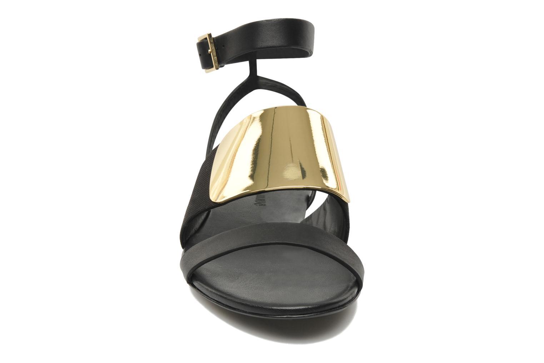 Sandales et nu-pieds See by Chloé June Noir vue portées chaussures