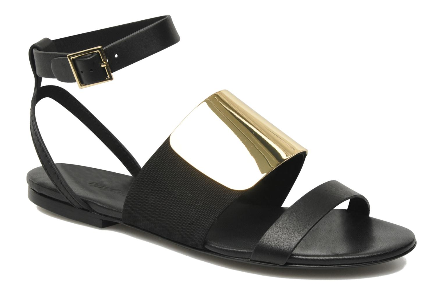Sandals See by Chloé June Black detailed view/ Pair view