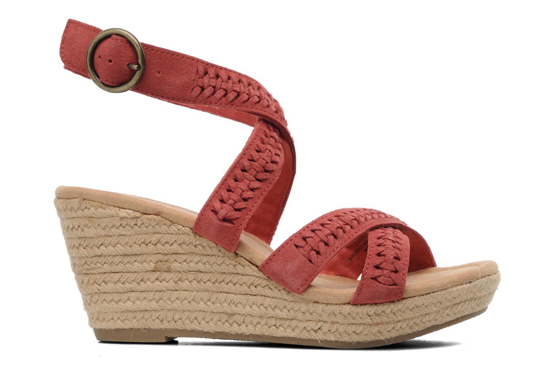 Sandales et nu-pieds Minnetonka Haley Rouge vue derrière