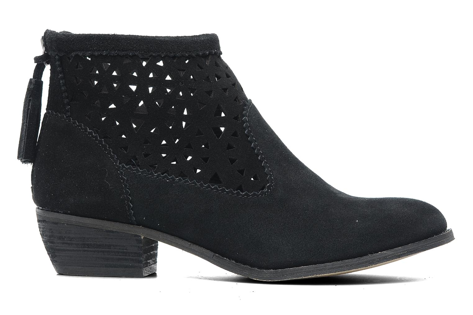 Ankle boots Minnetonka Cutout Boot Black back view