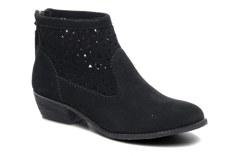 Bottines et boots Minnetonka Cutout Boot Noir vue détail/paire