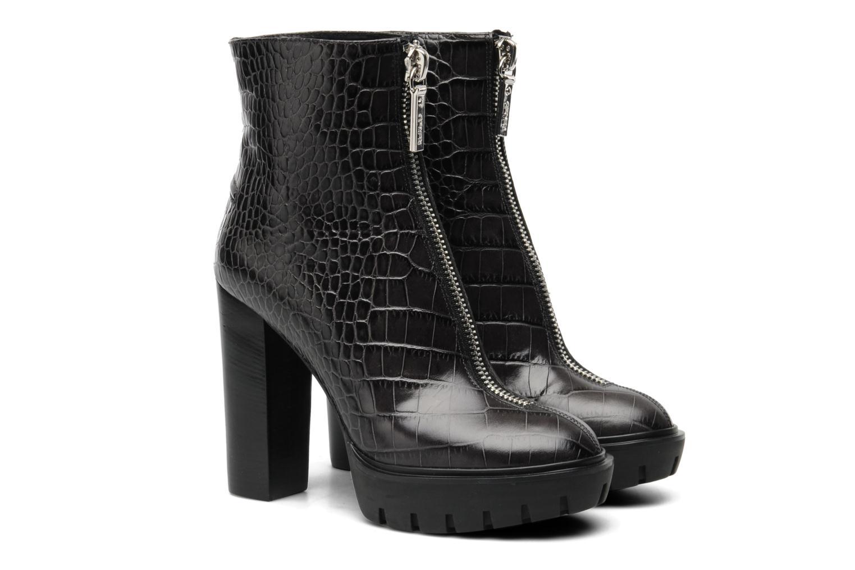 Bottines et boots Kenzo Carina Noir vue 3/4