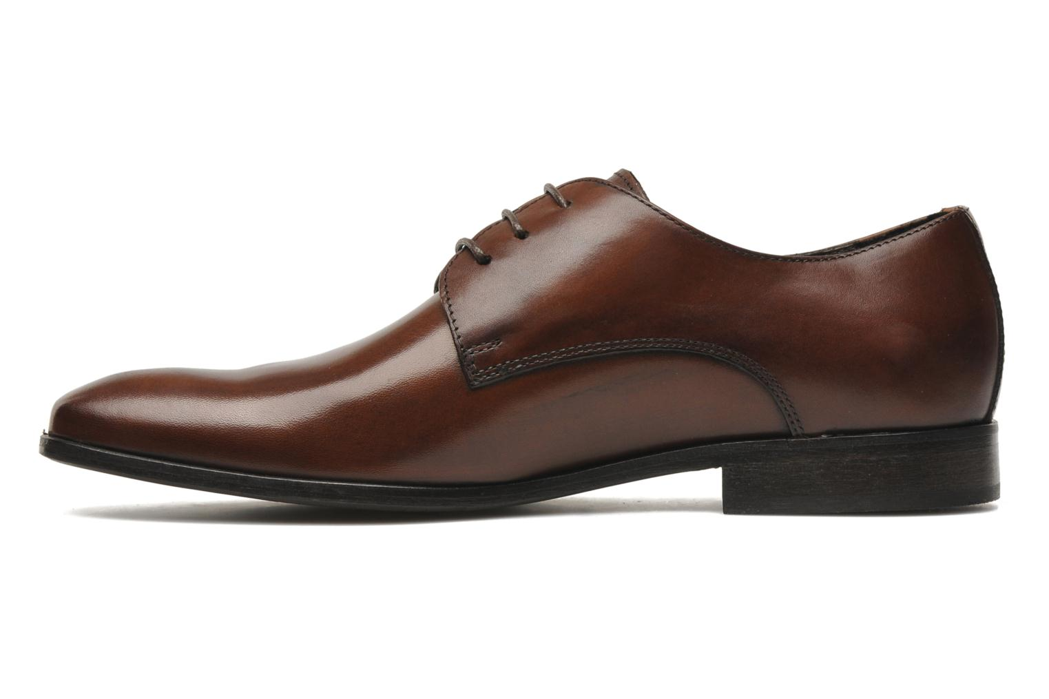 Lace-up shoes Marvin&co Nicovée Brown front view