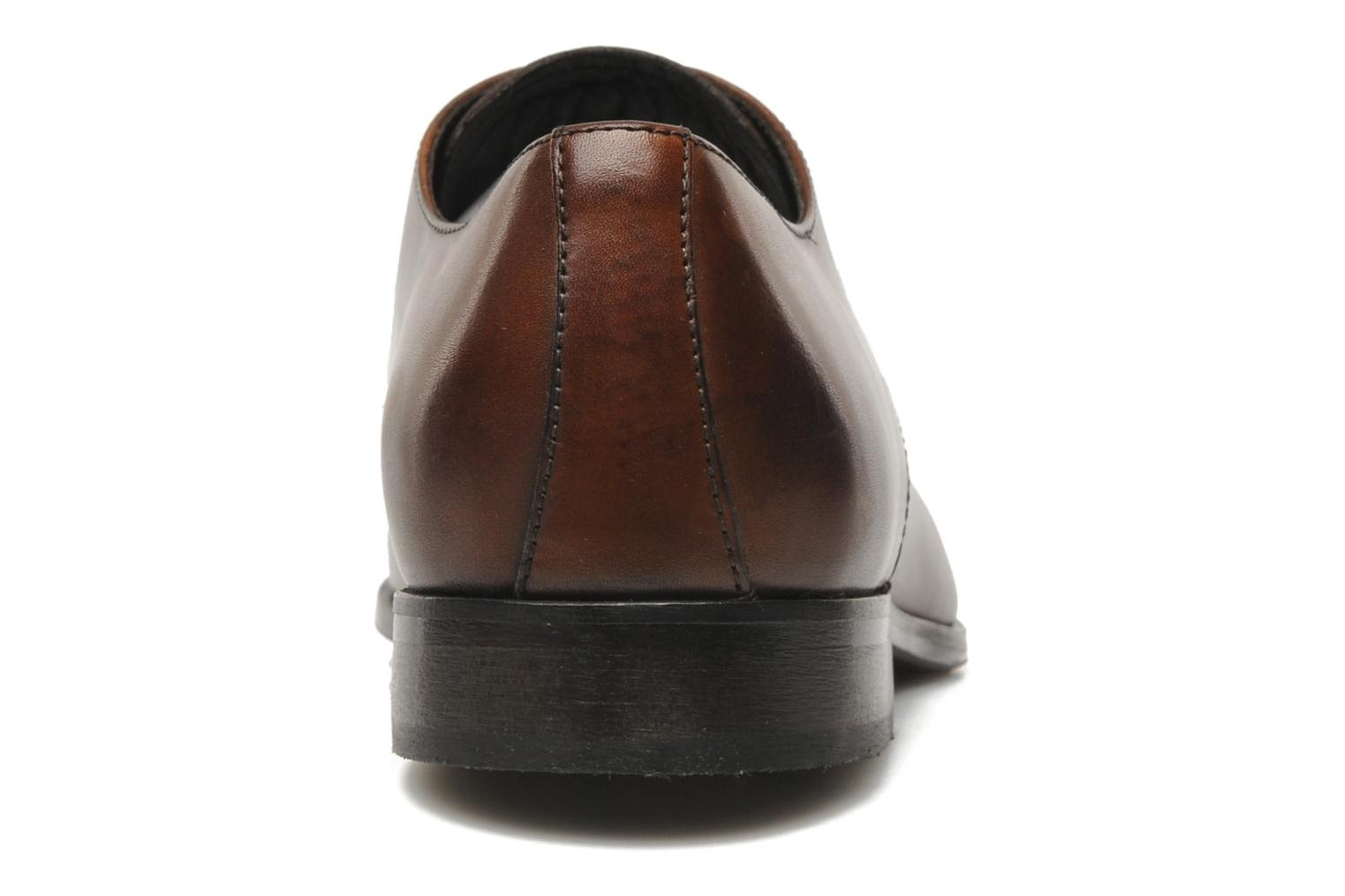 Lace-up shoes Marvin&co Nicovée Brown view from the right