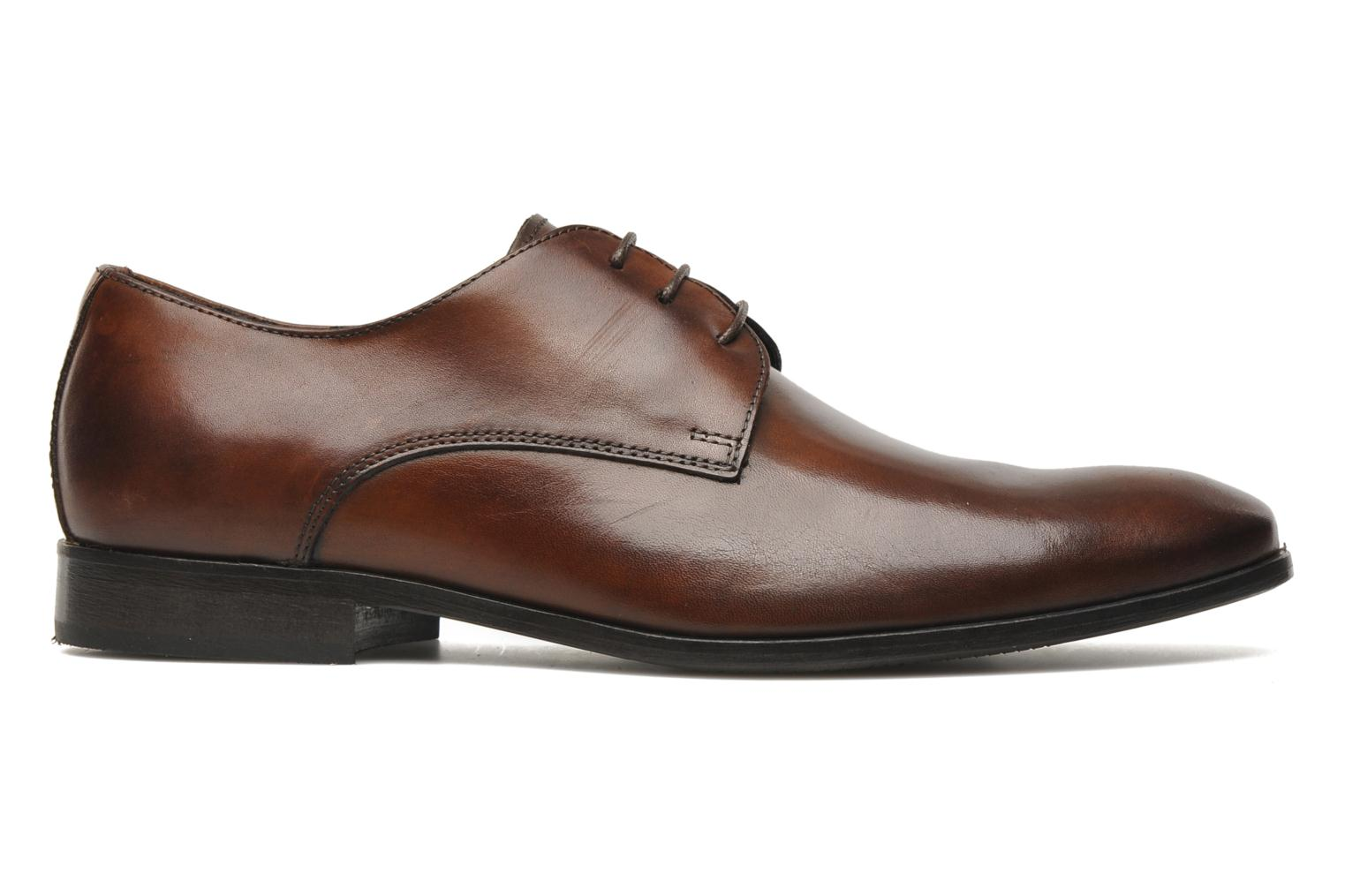 Lace-up shoes Marvin&co Nicovée Brown back view
