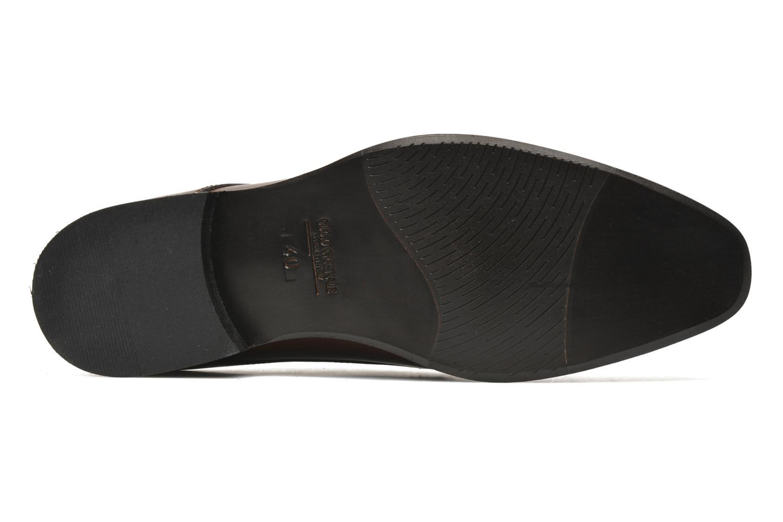 Chaussures à lacets Marvin&Co Nicovée Marron vue haut