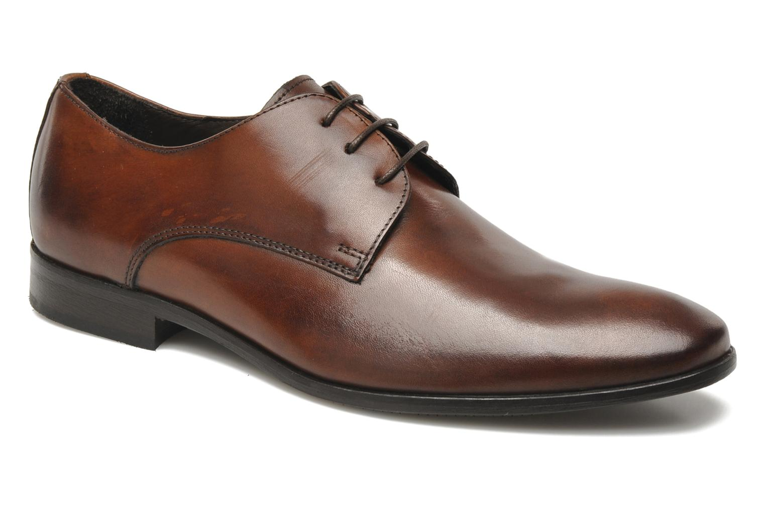 Lace-up shoes Marvin&co Nicovée Brown detailed view/ Pair view