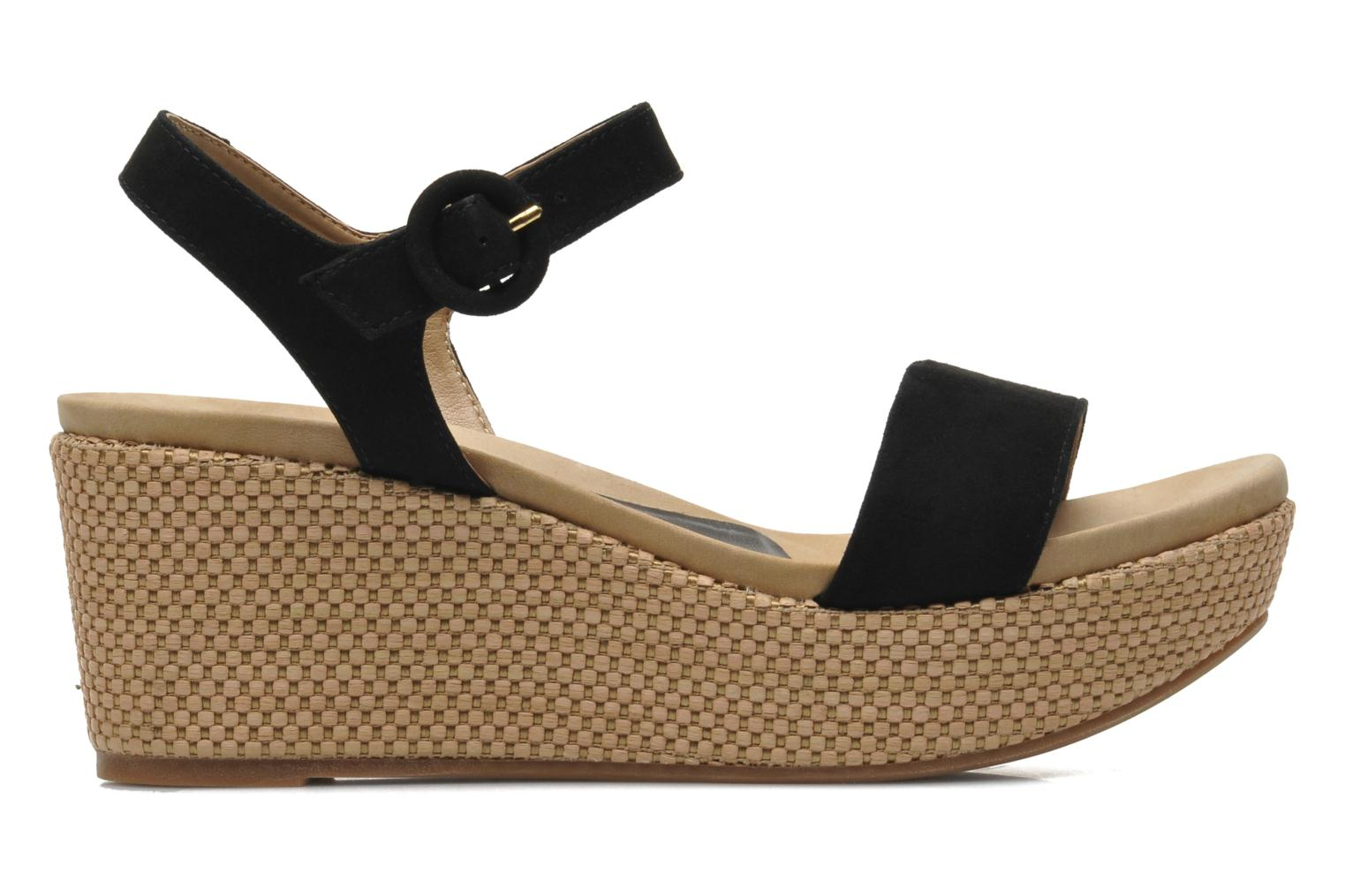 Sandals Unisa Kito Black back view