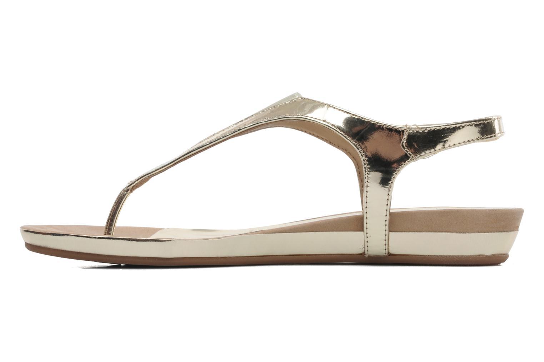 Sandales et nu-pieds Unisa Abira Or et bronze vue face