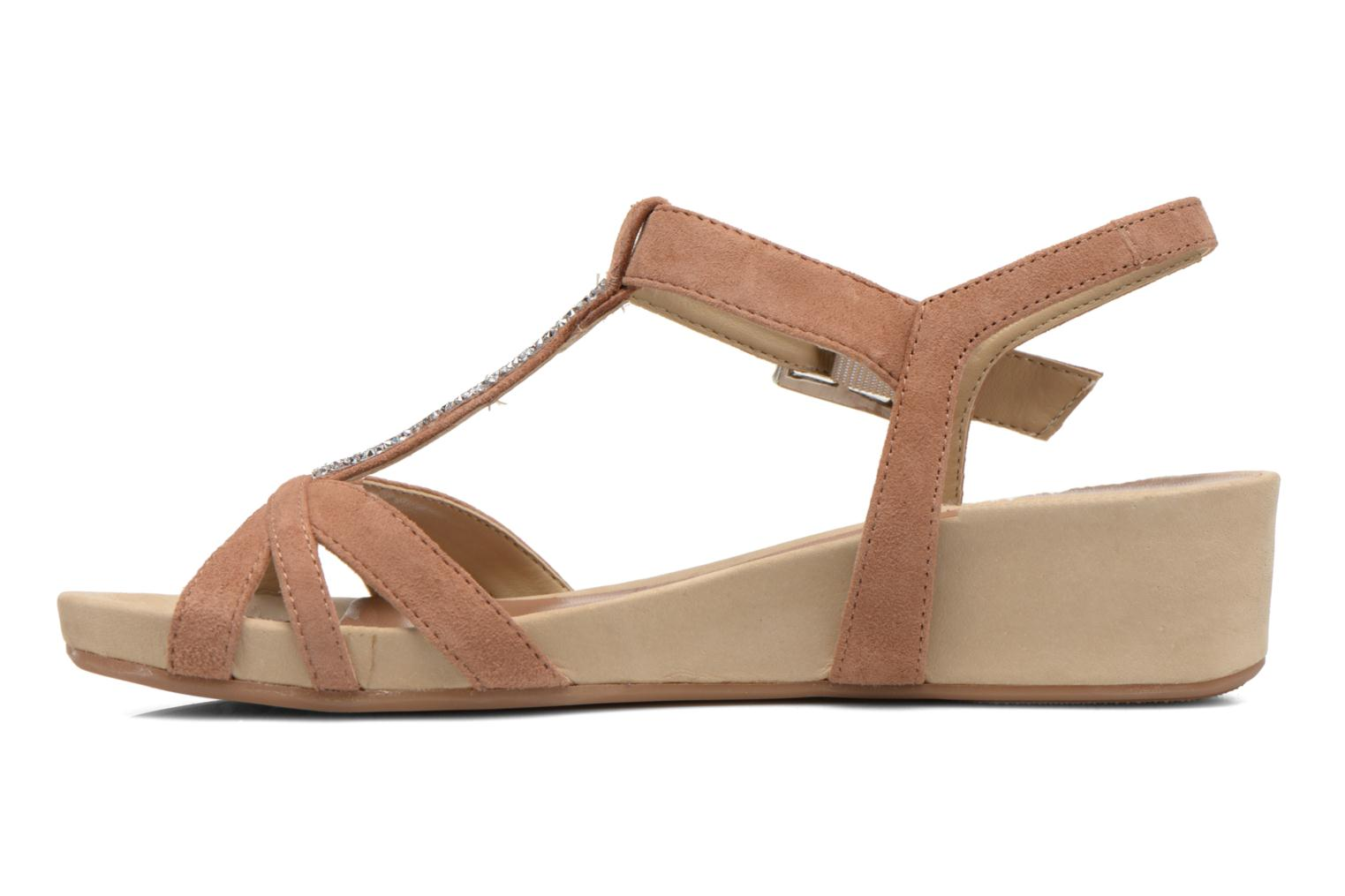 Sandals Unisa Boili Brown front view