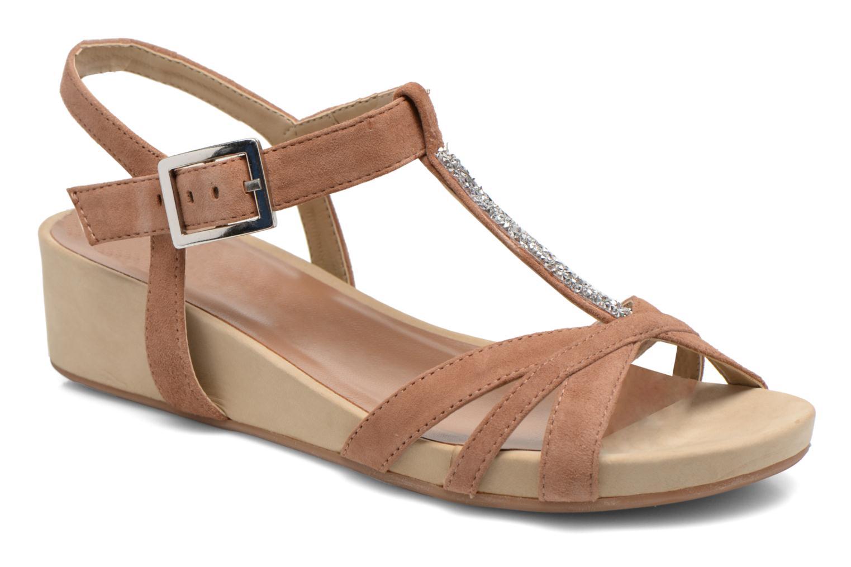 Sandales et nu-pieds Unisa Boili Marron vue détail/paire