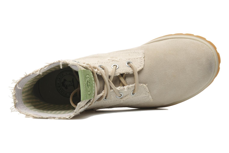 Stiefeletten & Boots Panama Jack Tokio beige ansicht von links