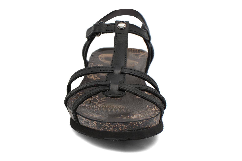 Sandali e scarpe aperte Panama Jack Dori Nero modello indossato