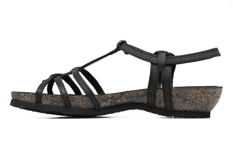 Sandali e scarpe aperte Panama Jack Dori Nero immagine frontale