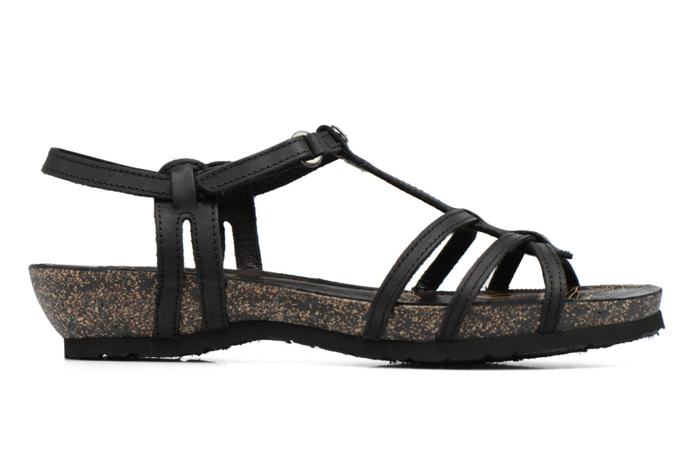 Sandali e scarpe aperte Panama Jack Dori Nero immagine posteriore