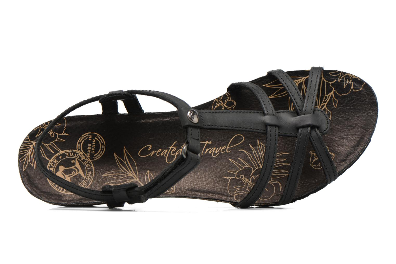 Sandali e scarpe aperte Panama Jack Dori Nero immagine sinistra
