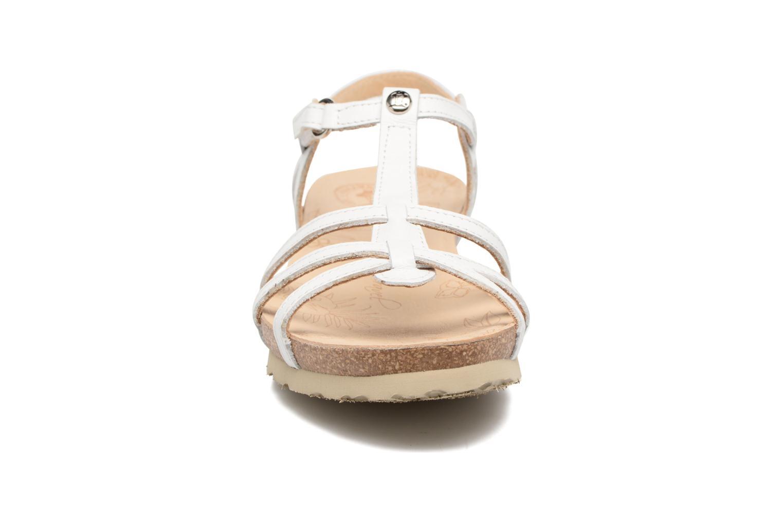 Sandales et nu-pieds Panama Jack Dori Blanc vue portées chaussures