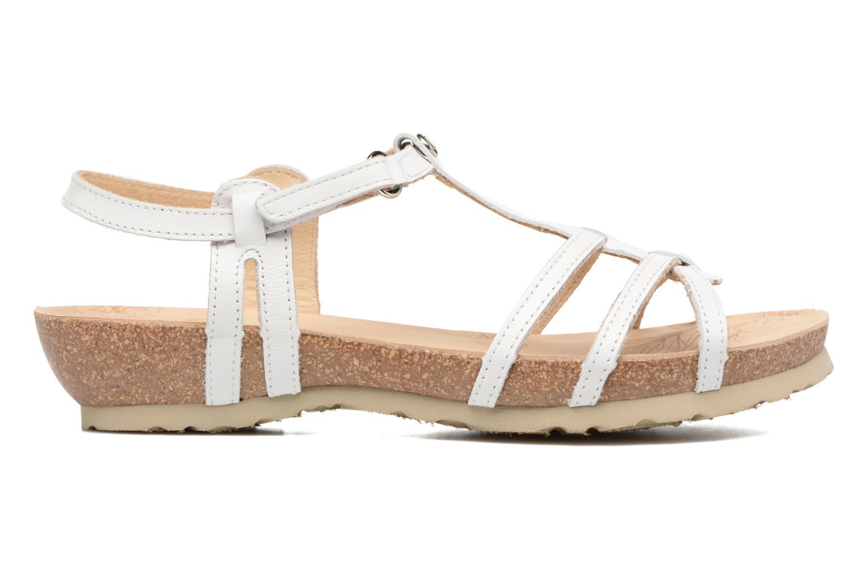 Sandalen Panama Jack Dori weiß ansicht von hinten