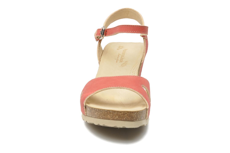 Sandalen Panama Jack Jania Natur Roze model