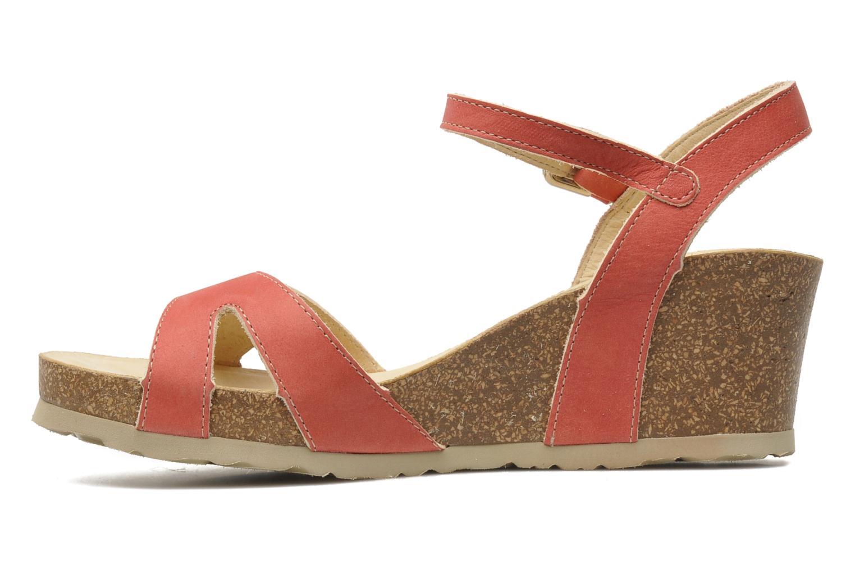 Sandalen Panama Jack Jania Natur Roze voorkant