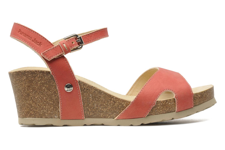 Sandalen Panama Jack Jania Natur Roze achterkant