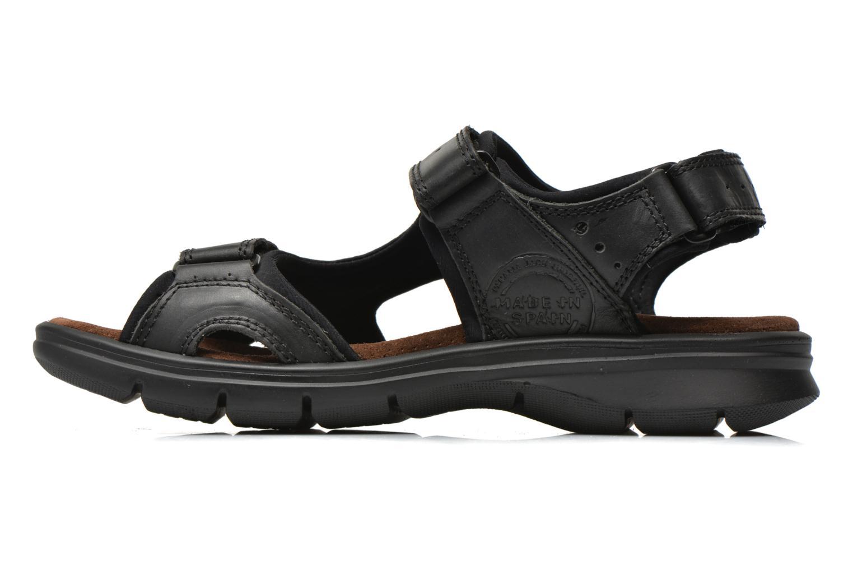 Sandalen Panama Jack Salton Zwart voorkant