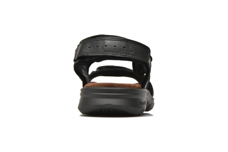 Sandalen Panama Jack Salton Zwart rechts
