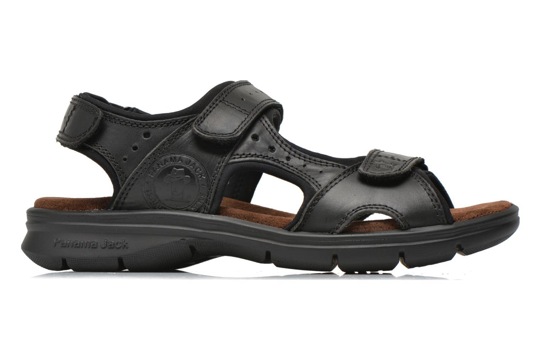 Sandalen Panama Jack Salton Zwart achterkant
