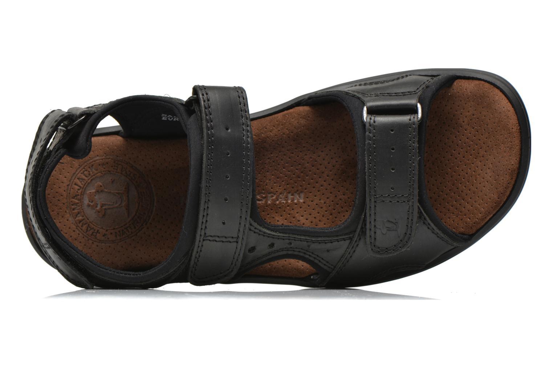 Sandalen Panama Jack Salton Zwart links