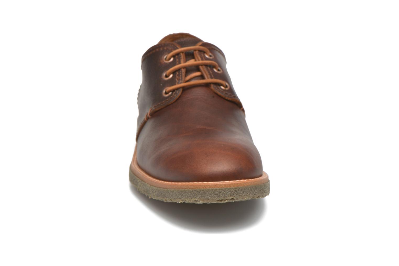 Chaussures à lacets Panama Jack Goodman Marron vue portées chaussures