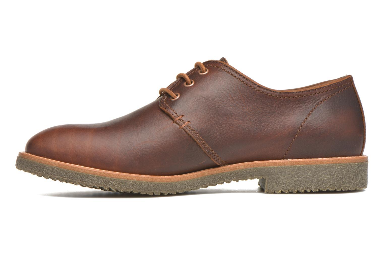 Chaussures à lacets Panama Jack Goodman Marron vue face