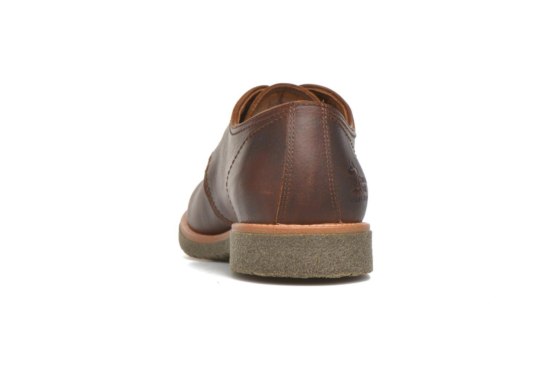 Chaussures à lacets Panama Jack Goodman Marron vue droite